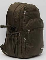 Мужской городской рюкзак портфель для путешествий и походов / 43х27 см.