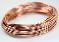 Ювелирная проволока Красное золото 2 мм 10 метров