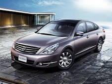 Накладки на пороги Nissan Teana (2007+)