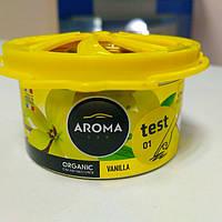 Ароматизатор Aroma Car Organic 40g - VANILLA