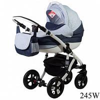 Детская универсальная коляска 2 в 1 Adamex Avila 245W