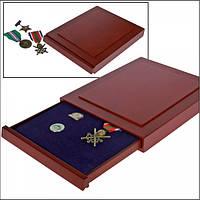 Деревянный бокс для значков, орденов, медалей - SAFE Exquisite