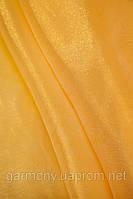 Органза однотонная Желтый