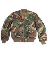 """Куртка лётная """"MA1"""" (вудлэнд)"""