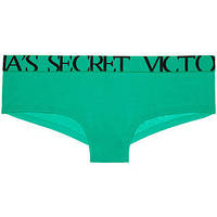 Трусики Victoria's Secret Bold Logo cheeky, Tahitian Green 9ZQ