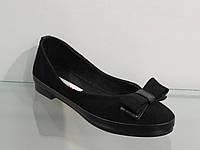 Мягкие удобные женские туфли натуральная кожа