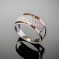 Женское кольцо Джульетта со вставкой золота