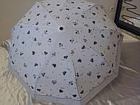 Зонт-автомат женский 9 спиц на карбоне