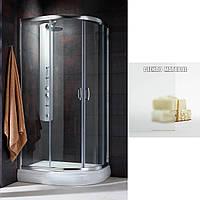 Кабина душевая Radaway Premium Plus E 1900 90x80 см хром+матовое стекло , фото 1