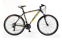 "Велосипед SKD 29"" Optimabikes BIGFOOT AM Vbr рама-21"" Al черно-желтый 2015"