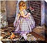 """Набор для вышивки бисером на хлопковом холсте девочка """"Маленькая принцесса"""""""