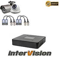 Комплект видеонаблюдения KIT-1141DWA: 2 цифровые видеокамеры 2.1 Mp Sony Exmor + видеорегистратор