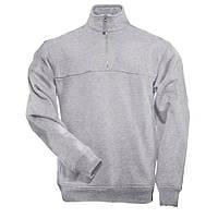 """Реглан тактический """"5.11 1/4 Zip Job Shirt"""" (серый)"""