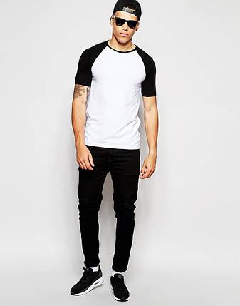 Мужская футболка black&white, фото 2