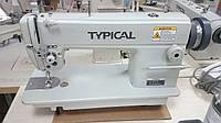Одноигольная промышленная швейная машина челночного стежка с игольным продвижением TYPICAL GC6160
