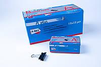 Биндер 32 mm №А-862,зажим для бумаг, 144 шт/блок