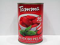 Томаты Tamma целые очищенные 400г, фото 1