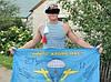 Майка-тільняшка ВДВ (блакитна), фото 3