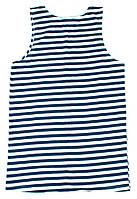 Майка-тельняшка ВМФ (темно-синий)