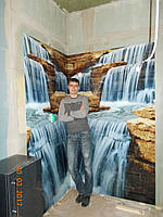 "Скинали - ""Водопад"" в душ кабину"
