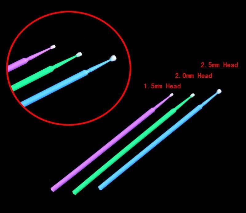 Аппликаторы regular(микробраши), синий, 100шт. NaviStom