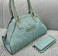 Сумка брендовая Stella McCartney цвет голубой