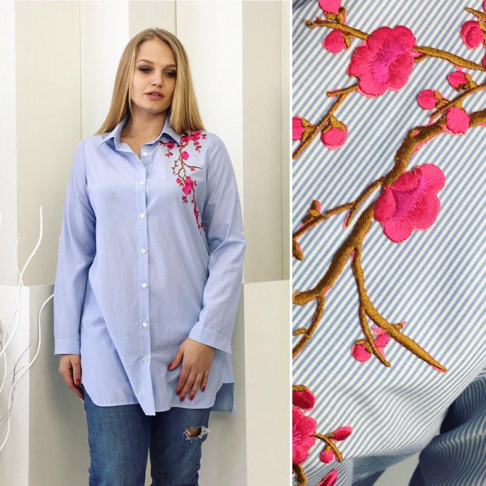 Блуза женская поплин