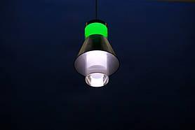 Люстра подвесная L78052/1 (BL+WT), фото 2