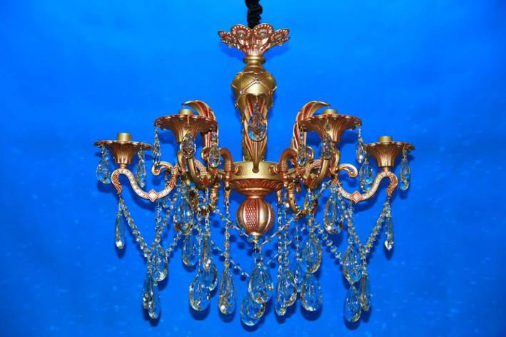 Люстра свеча LS2066M/6(RAB), фото 2