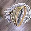 Повязка - корона детская резинка золотая для волос диадема для девочки украшения для волос, фото 7