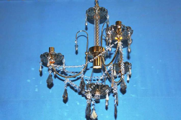 Люстра свеча 00182/3+1 (FGD+DLIVE), фото 2