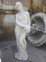 Скульптуры для сада Девушка с кувшином