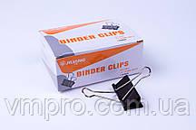 Биндер 41 mm №А-863,зажим для бумаг, 12 шт/блок