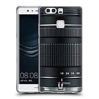 Силиконовый чехол для Huawei P9 Plus узор Фотокамера нео