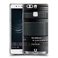 Силиконовый чехол для Huawei P9 Plus узор Фотокамера