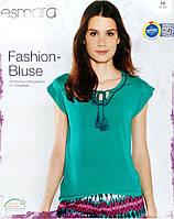 Футболка блузка летняя женская без рукава зеленая евро 36 38 40 42
