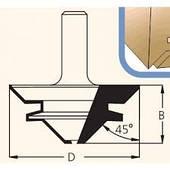 Фрезы для углового и прямого  сращивания WPW