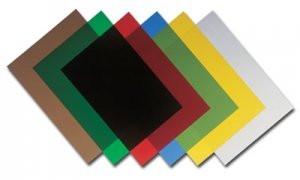 """Обложки пластиковые PP Кристал 300/400 бесцветные """"песок"""",  уп/100шт."""