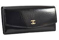 Стильный лаковый кошелек Chanel 7005