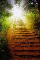 Светящиеся картины Startonight Утро в Лесу Природа Пейзаж Печать на Холсте Декор стен Дизайн дома Интерьер