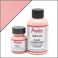 Краска для кожи Angelus Salmon (лососевый) 80 мл.