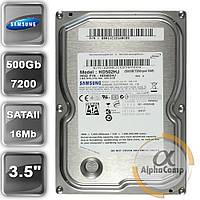 """Жесткий диск 3.5"""" 500Gb Samsung HD502HJ (16Mb/7200/SATAII) БУ"""