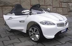 Детский электромобиль BMW B3 белый, EVA колеса, Яркая подсветка, фото 3