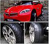 Детский электромобиль BMW B3 белый, EVA колеса, Яркая подсветка, фото 5