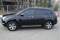 Дефлекторы окон (ветровики) Acura MDX II 2007-2012