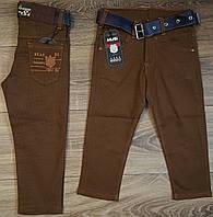 Стильные штаны,джинсы для мальчика 2-6 лет(коричневые точка)  пр.Турция