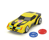 """Авто """"Трансформер.20см Бамблби"""" с функ. стрельбы мини-дисками, звук. и свет. эффектами"""