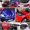 Детский электромобиль BMW B3 черный, EVA колеса, Яркая подсветка, фото 5