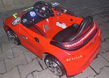 Детский электромобиль BMW B3 красный, EVA колеса, Яркая подсветка, фото 3
