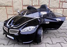 Детский электромобиль BMW B3 черный, EVA колеса, Яркая подсветка, фото 3